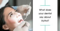 Patient having dental exam but wondering: does xylitol prevent cavities?
